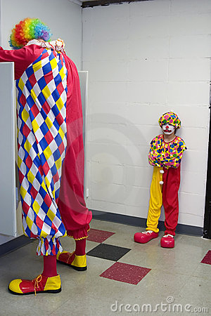 Free Pouting Clown Stock Images - 346604
