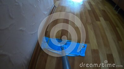 POV motion a mop stock footage