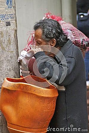 Poverty, Medellin, Colombia Editorial Stock Image