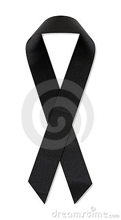 POW/MIA Black Ribbon Stock Photos - Image: 18416683