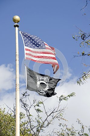 POW MIA Stock Photo