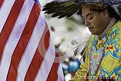 Pow Wow 10 Editorial Stock Photo