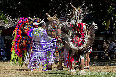 Pow Wow Editorial Image