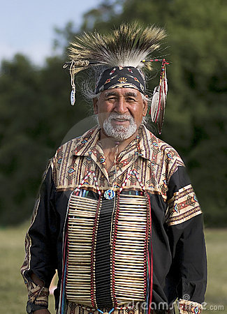 Pow Wow Elder Editorial Stock Image