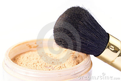 Powder and brush