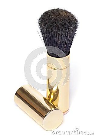 Free Powder Brush Royalty Free Stock Photography - 379187