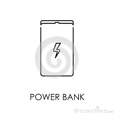 Free Power Bank Icon Symbol Flat Style Vector Illustration Stock Images - 94490894