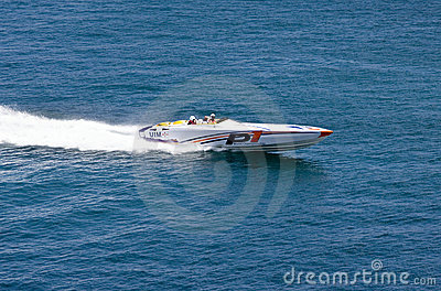 Power Boat - P1 World Championship Editorial Stock Image