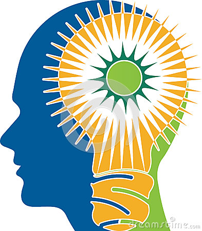 Power brain logo