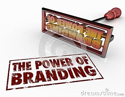 Power of Branding Iron Words Marketing Identity Trust