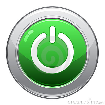 Free Power Button Icon / EPS Stock Photography - 15127132