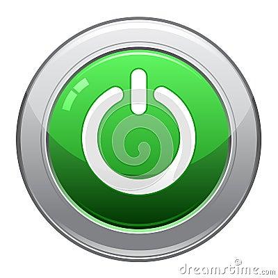 Power Button Icon / EPS