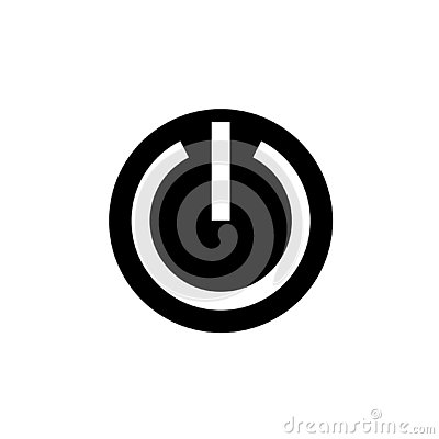 Free Power Button Icon Vector Design Royalty Free Stock Photo - 132038005