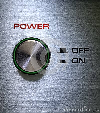 Power Button On-Off