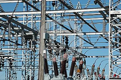 Power distribution site