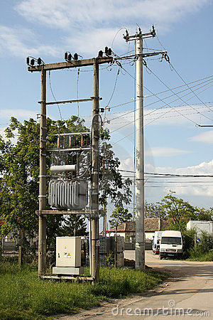 Power electric transformer