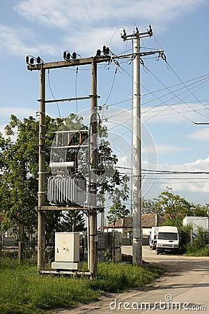 Power electric transformer
