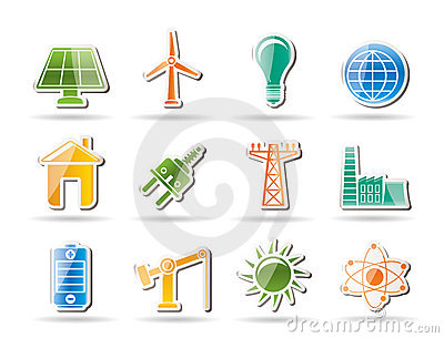 Power, energy and electricity objects
