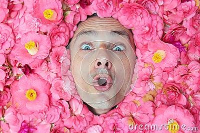 Power flower man