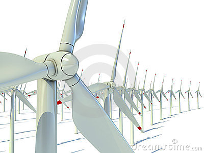 Power generation wind turbines