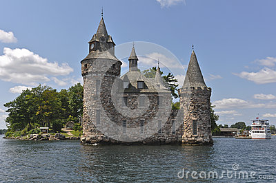 Power House, Boldt Castle in Thousand Islands, USA
