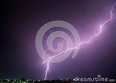 Power of lightning
