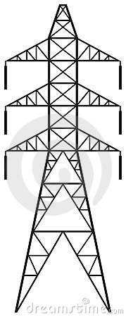 Free Power Line Royalty Free Stock Images - 23802569