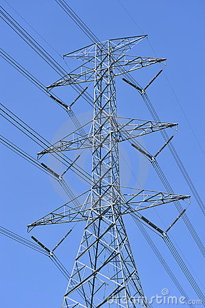 Free Power Line And Electricity Pylon Stock Photos - 7787193
