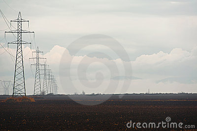 Power line grid