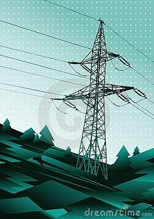 Power line illustration