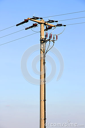 Power line post