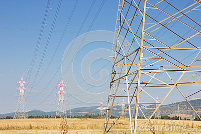 Power-line towers