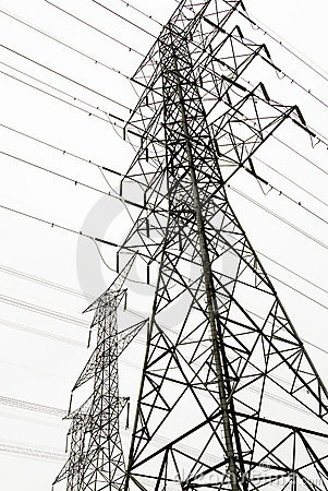 Power Lines Stock Images Image 5137314