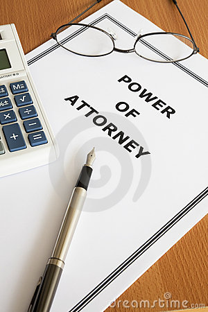 Free Power Of Attorney Royalty Free Stock Images - 13087519