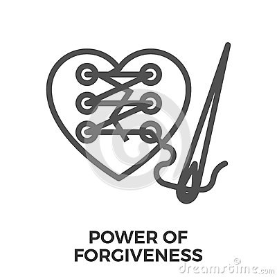 Free Power Of Forgiveness Stock Photography - 89756242