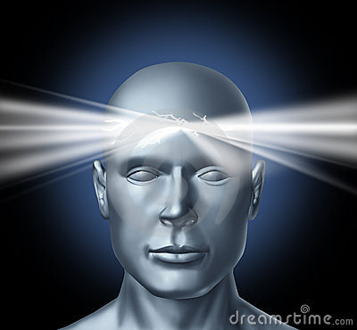 Free Power Of The Mind Stock Photo - 23256240