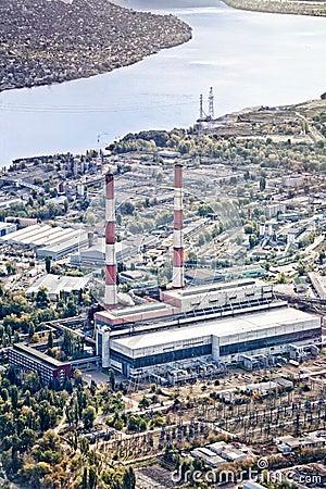 Power plant in Kiev, Ukraine