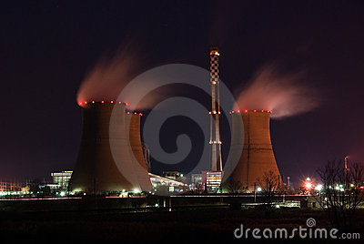 Power Plant at night