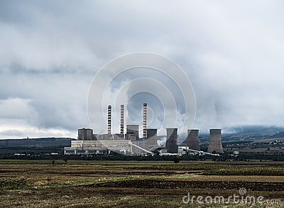 Power Plants During Day Time Free Public Domain Cc0 Image