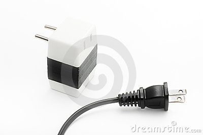 Power plug and voltage converter