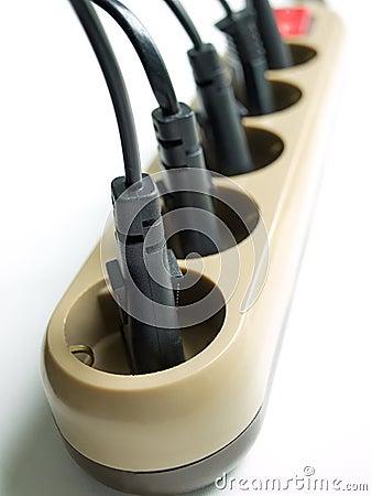 Free Power Plugs Stock Image - 8901561