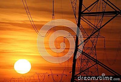 Power poles 080
