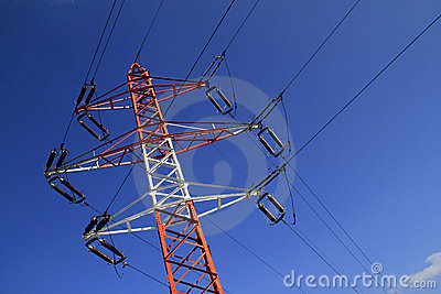 Power pylon - electricity