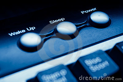 Power sleep buttons