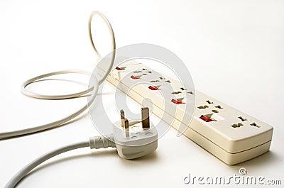 Power socket and plug