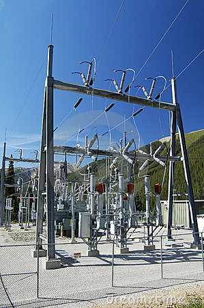 Free Power Substation Stock Images - 414824