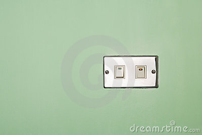 Power switch on/off