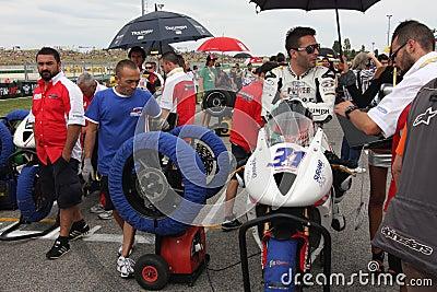 Power team by Suriano Triumph Daytona Editorial Photography