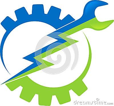 Power Tool Logo Royalty Free Stock Image - Image: 27011666 Lightning Logo Design