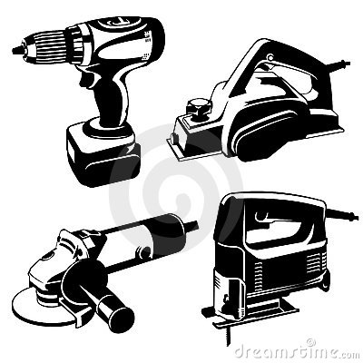 Free Power Tools Royalty Free Stock Images - 14986579